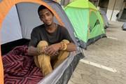 [Photo] Người vô gia cư Nam Phi trong 10 ngày đầu phong tỏa do dịch