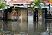 [Photo] Bão số 5 gây mưa gió lớn, làm ngập nước nhiều tỉnh
