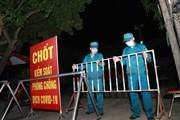 [Photo] Vĩnh Phúc cách ly y tế thôn Tiền Phong phòng chống COVID-19