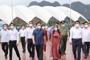 [Photo] Hoạt động của Chủ tịch Quốc hội Vương Đình Huệ tại Hải Phòng
