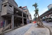 [Photo] Tái diễn tình trạng nhà siêu mỏng, siêu méo tại Hà Nội