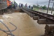 Mưa lớn gây sạt lở, ngập úng tại Quảng Nam, Quảng Ngãi và Bình Định