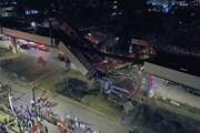 Hiện trường vụ sập đường sắt trên cao tại Mexico làm 23 người tử vong
