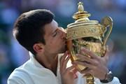 Khoảnh khắc đăng quang Wimbledon 2014 của Novak Djokovic