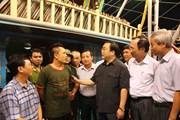 Phó Thủ tướng kiểm tra công tác phòng chống bão tại Hải Phòng