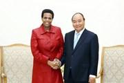 Thủ tướng Nguyễn Xuân Phúc tiếp Đại sứ Nam Phi chào từ biệt