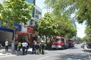 Đà Nẵng: Kịp thời dập tắt vụ cháy tại một Công ty Bảo hiểm