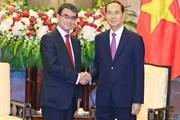 Chủ tịch nước: Đề nghị Nhật Bản tiếp tục cung cấp ODA cho Việt Nam