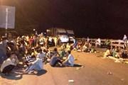 Khởi tố 9 đối tượng quá khích chặn xe trên Quốc lộ 1A