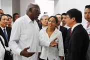Đoàn đại biểu Cuba thăm Bệnh viện Hữu nghị Việt Nam-Cuba Đồng Hới