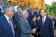 Chủ tịch nước tiếp các trưởng đoàn dự Đại hội ASOSAI lần thứ 14