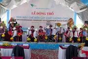Xây nhà máy bột thạch anh chất lượng cao đầu tiên tại Việt Nam