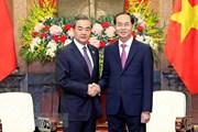Bộ trưởng Ngoại giao Trung Quốc chia buồn việc Chủ tịch nước từ trần