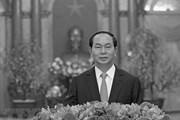 Lãnh đạo các nước gửi điện chia buồn về việc Chủ tịch nước từ trần
