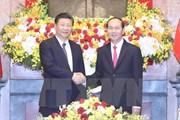 Chủ tịch Trung Quốc: Chủ tịch Trần Đại Quang là nhà lãnh đạo kiệt xuất