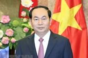 Phó Chủ tịch Trung Quốc chia buồn việc Chủ tịch Trần Đại Quang từ trần