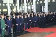 Hình ảnh Lãnh đạo Đảng, Nhà nước viếng Chủ tịch nước Trần Đại Quang