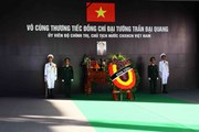 Hình ảnh lễ viếng Chủ tịch nước Trần Đại Quang tại Ninh Bình