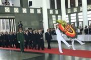 Tổ chức trọng thể Lễ viếng Chủ tịch nước Trần Đại Quang