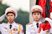 Hình ảnh lễ thượng cờ rủ Quốc tang Chủ tịch nước trước Lăng Bác