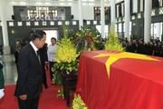 [Photo] Thủ tướng Campuchia Hun Sen viếng Chủ tịch nước Trần Đại Quang