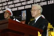 Toàn văn Lời điếu tại Lễ truy điệu nguyên Tổng Bí thư Đỗ Mười