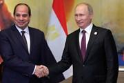 Tổng thống Nga nâng tầm quan hệ với Ai Cập lên mức cao nhất