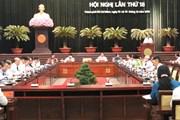 Bế mạc Hội nghị lần thứ 18 Ban Chấp hành Đảng bộ Thành phố Hồ Chí Minh