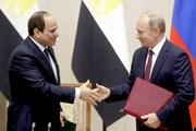 Ai Cập và Nga ký thỏa thuận trở thành đối tác toàn diện