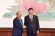 Hình ảnh Thủ tướng dự lễ khai mạc CIIE 2018 lần thứ nhất
