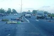 Quảng Nam: Ba xe ôtô va chạm trên Quốc lộ 1A làm một lái xe tử vong