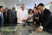 Chủ tịch Cuba tìm hiểu mô hình Khu công nghệ cao Thành phố Hồ Chí Minh