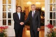 Trung Quốc và Singapore ký kết 11 bản ghi nhớ về hợp tác song phương