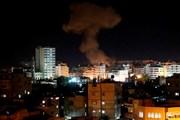 Israel không kích Dải Gaza sau vụ phóng rocket của Palestine