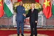 Tổng Bí thư, Chủ tịch nước Nguyễn Phú Trọng hội đàm Tổng thống Ấn Độ