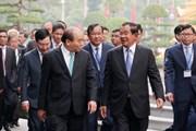 Thủ tướng Campuchia kết thúc chuyến thăm chính thức Việt Nam