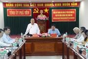 Phó Thủ tướng Thường trực Trương Hòa Bình làm việc tại Phú Yên