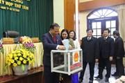 Hải Dương công bố kết quả lấy phiếu tín nhiệm các chức danh lãnh đạo