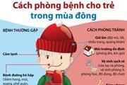 [Infographics] Cách phòng bệnh cho trẻ trong mùa Đông