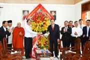 Chủ tịch MTTQ Việt Nam chúc mừng nhân dịp Giáng sinh tại Bình Dương