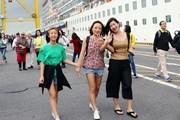 """Hơn 2.000 du khách """"xông đất"""" Đà Nẵng bằng đường biển"""