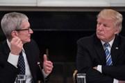 Apple chi hàng triệu USD vận động hành lang chính quyền Trump