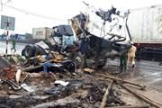 Thanh Hóa: Tai nạn giao thông liên hoàn làm tám người thương vong