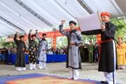 Bảo tồn, phát huy Lễ hội Minh thề, không tham nhũng ở Hải Phòng