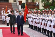 Hình ảnh Thủ tướng dự Hội nghị sơ kết công tác của Bộ Công an