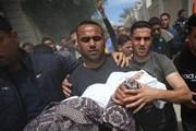 Hình ảnh Gaza tang thương, đổ nát trong mưa bom, rocket
