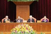 Hình ảnh Tổng Bí thư chủ trì Khai mạc Hội nghị Trung ương 10 khóa XII