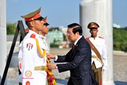 Hình ảnh Đoàn đại biểu Đảng Cộng sản Việt Nam thăm, làm việc tại Cuba