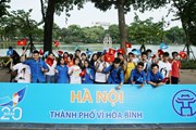 """Kỷ niệm 20 năm Hà Nội đón nhận danh hiệu """"Thành phố vì hòa bình"""""""