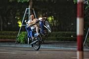 [Photo] Tái phát tình trạng đua xe trái phép tại Hà Nội
